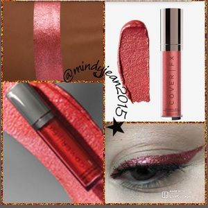 Cover FX Shimmer Vail ❤️EMBER (true Red)